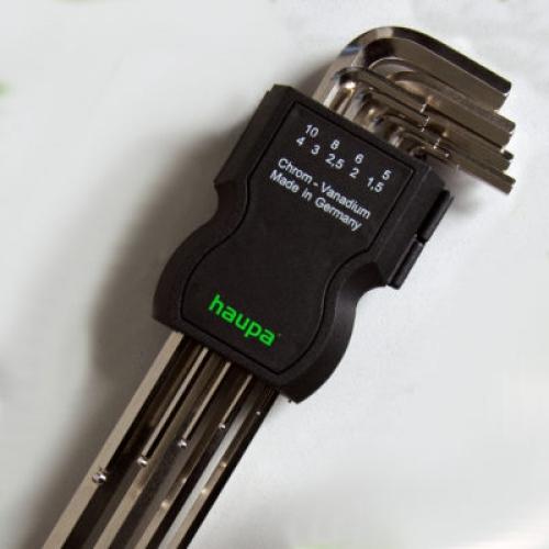Шестигранные (штифтовые) ключи
