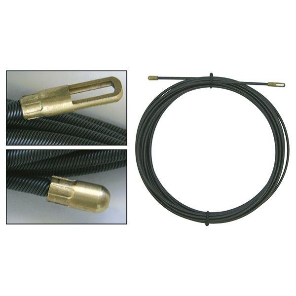 Втягивающаяся стальная спираль 15 м на 4 мм