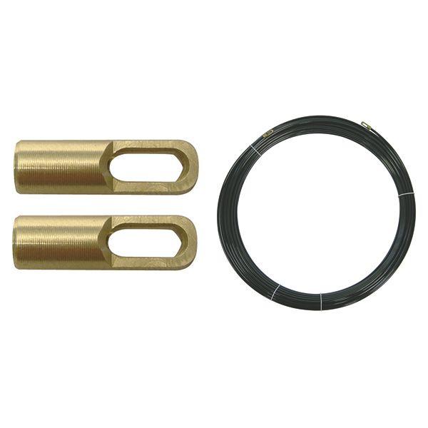 Перлоновый пруток, 2 петли, 10 м на 3 мм