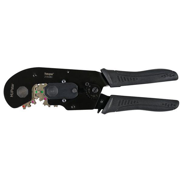 Обжимной инструмент для конечных гильз 0,14-16 мм2 и открытых латунных кабельных наконечников  0,14-6 мм2
