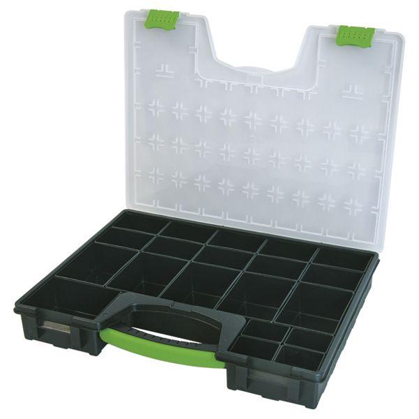 Ассортиментная коробка пустая HAUPA из полипропилена с прозр.крышкой
