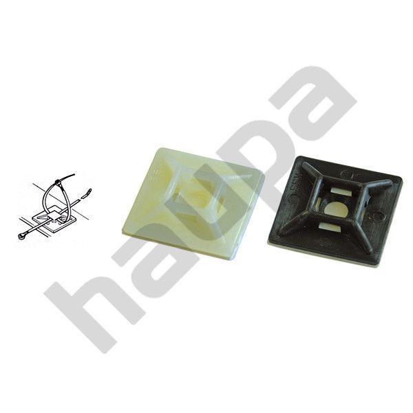 Самоклеющаяся площадка черного цвета до 3,6 мм, 19x19 мм