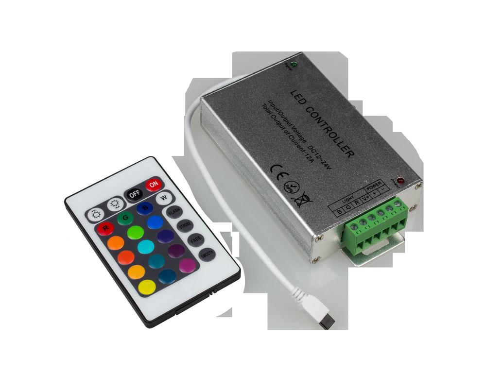 Контроллер LS-CB-12 12А 12В 16 статических 4 динамических канала LLT