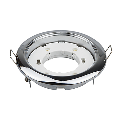 Светильник встраиваемый GX53R-RC-standard металл под лампу GX53 230В хром IN HOME