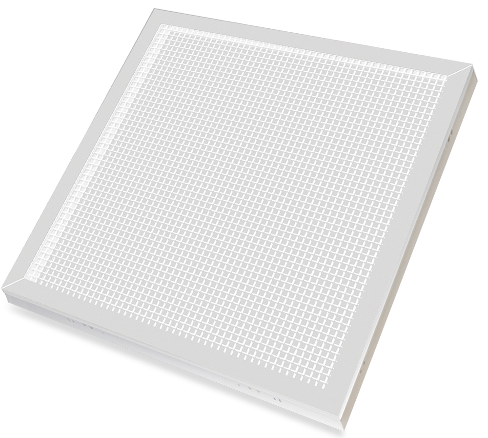 Панель светодиодная LPU-PRO-ПРИЗМА 45Вт 230В 4000К 5000Лм 595х595х19мм БЕЛАЯ IP40 LLT