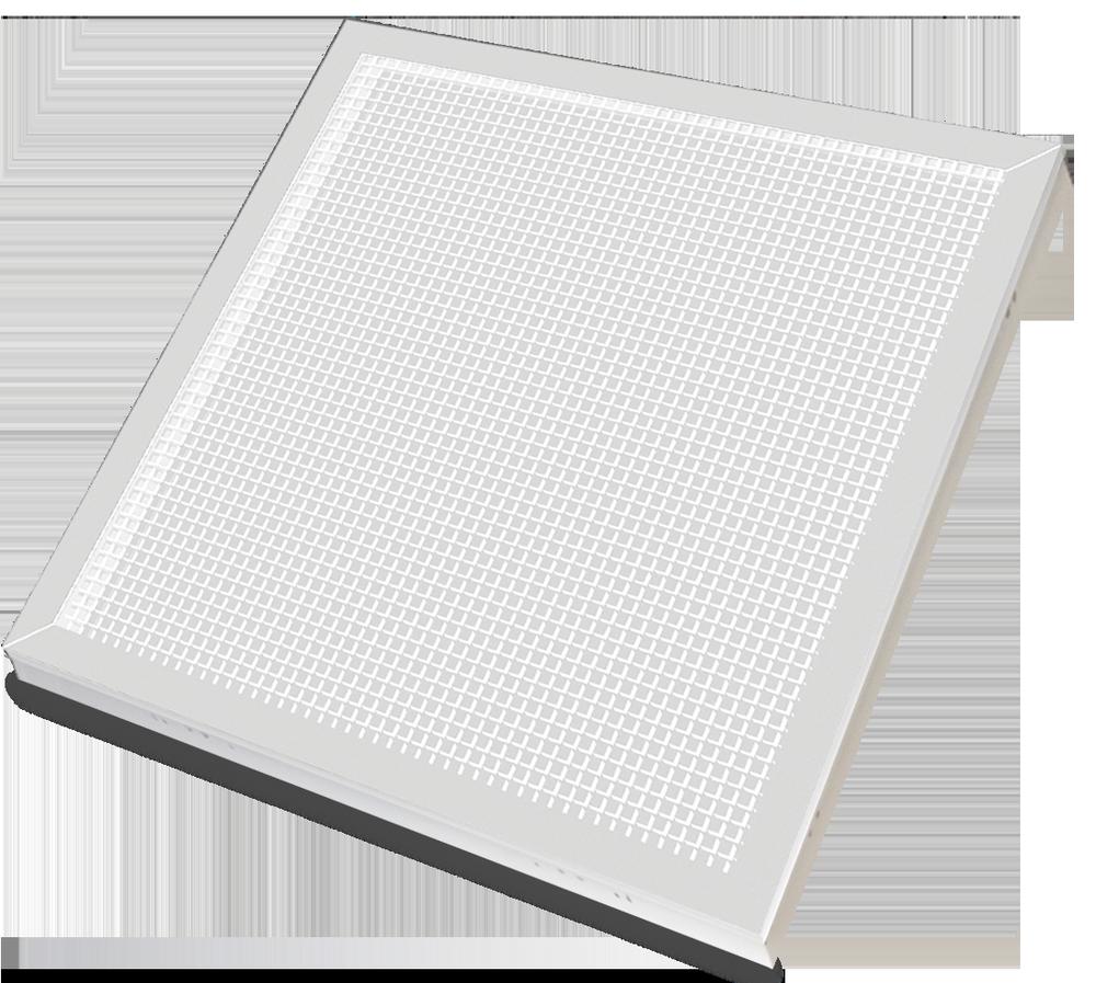 Панель светодиодная LPU-ПРИЗМА-PRO 36Вт 230В 4000К 2800Лм 595х595х19мм белая IP40 LLT