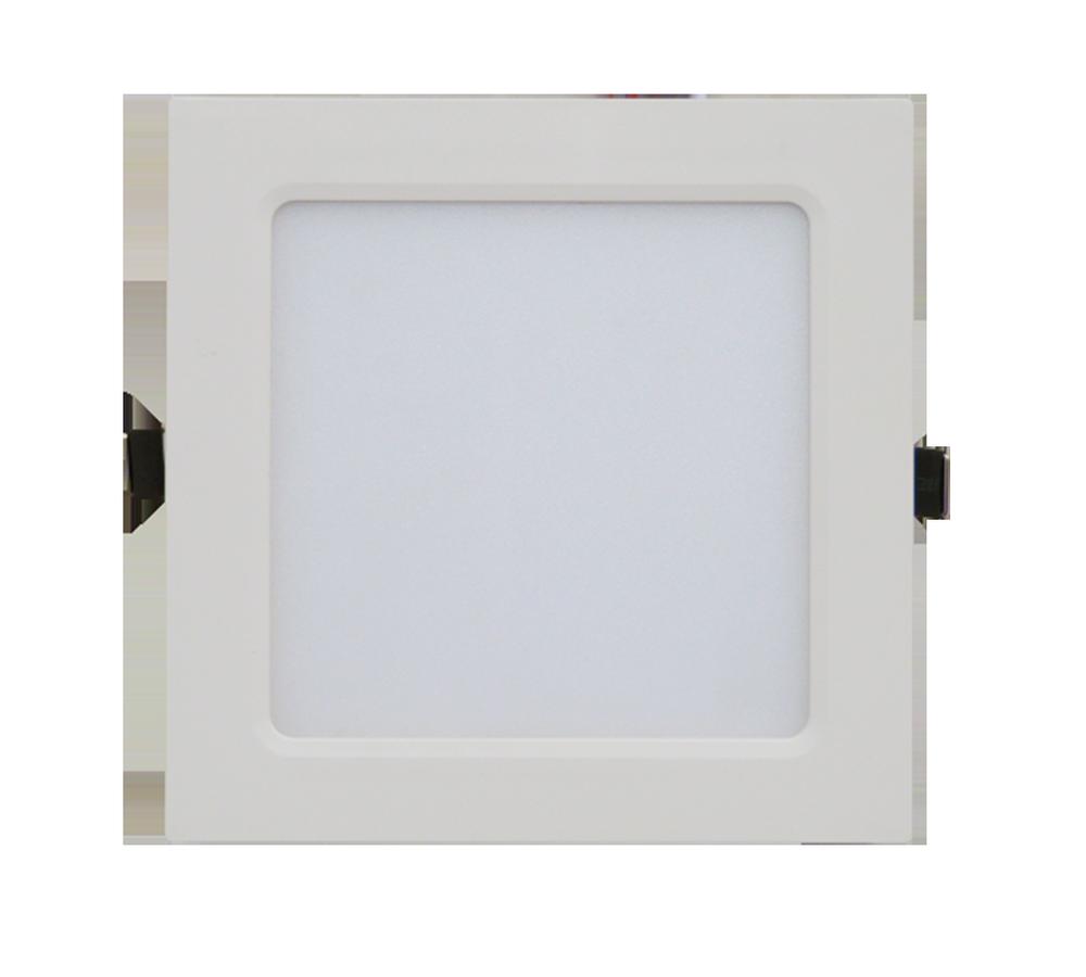 Панель светодиодная квадратная SLP-eco 12Вт 230В  4000К 840Лм 171х171х23мм белая IP40