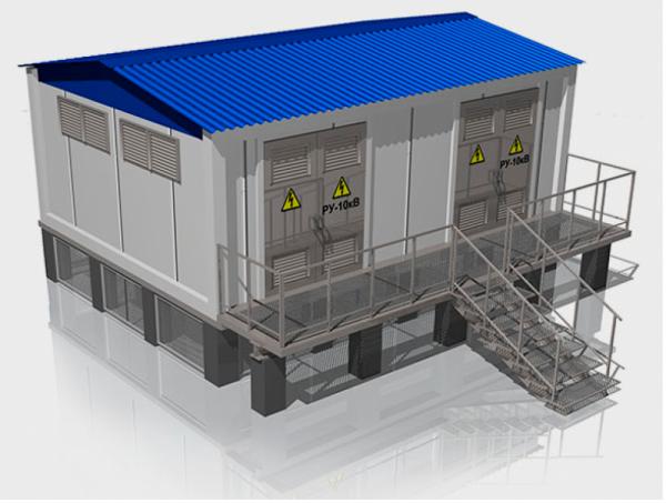 Комплектные трансформаторные подстанции наружной установки КТПН, 2КТПН