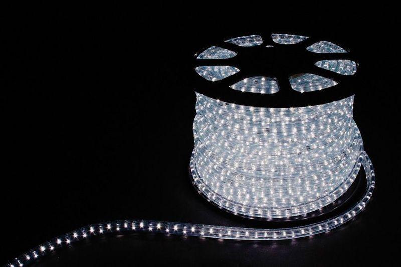 2W 100м 13мм 230V 36LED/м 1,44Вт/м (2м/отрез), 2 аксесс., белый 7000K/ LED-R2W
