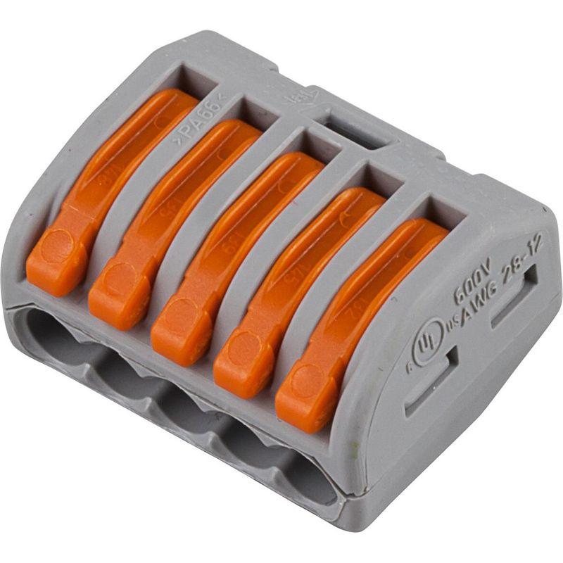 222-415 Cтроительно-монтажные клеммы 5--проводные