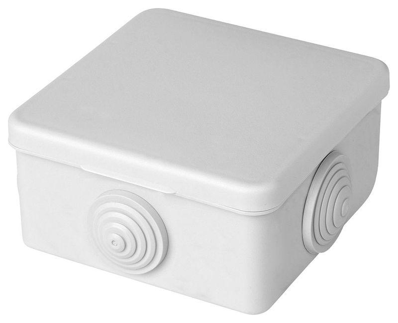 EBX10-24-44 Коробка разветвительная 250/380В, 10А, IP44, 4 ввода, белая (КЭМ 3-10-4 (П))