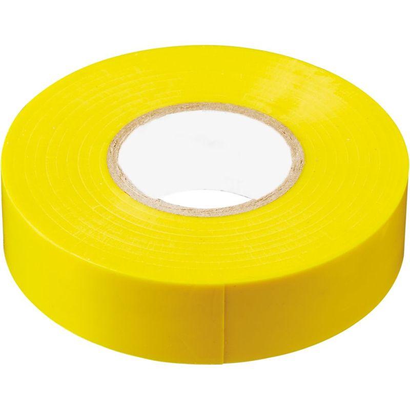INTP01315-10 изоляционная лента 0,13*15 мм. 10 м. желтая