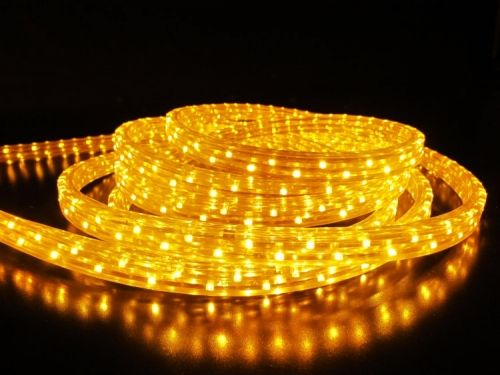 Дюралайт LED Желтый, квадратный, 3-жилы