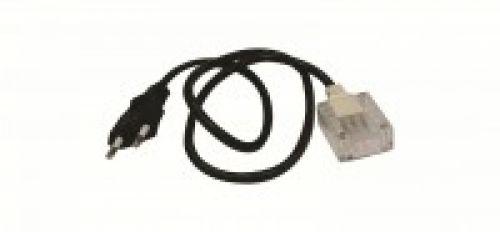 Сетевой шнур к дюралайту (квадратный)
