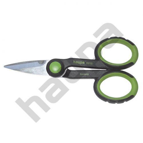 Двухкомпонентные ножницы с мягкими ушками 140 мм