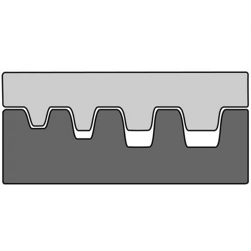 Насадка для обжимных клещей 210763 для обжима конечных гильз 0,5-4 мм2