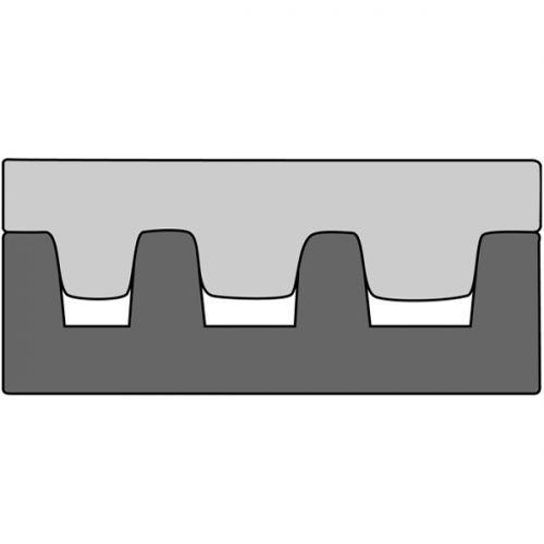 Насадка для обжимных клещей 210765 для обжима концевых гильз 1-10 мм2