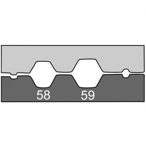 Насадка для обжимных клещей 210767 для обжима коаксиальных кабелей RG 58-59-62-6