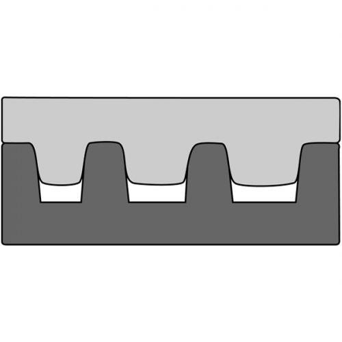 Насадка для обжимных клещей 210768 для обжима концевых гильз 10-35 мм2