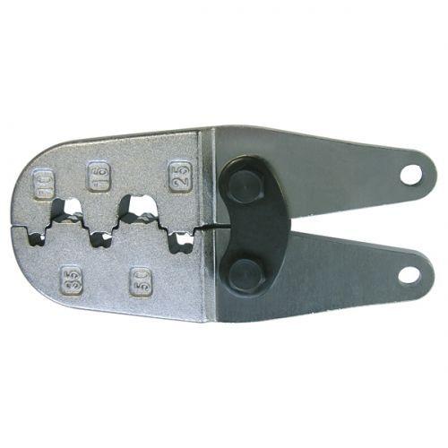 Насадка для обжимных клещей 210788 для обжима двойных  концевых гильз  10 - 50 мм2