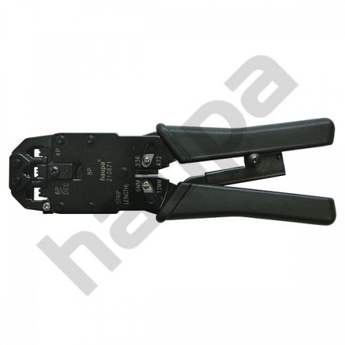 Инструмент обжимной для неэкранированных модульных штекеров, 4-6-8 полюсов