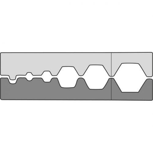 Насадка для обжимных клещей211680 для коаксиальных соединителей