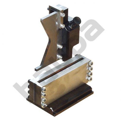 Приспособление для резания массивных медных и алюминиевых шин размером до 12 x 120 мм