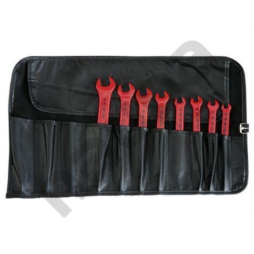 Набор ключей с одним зевом VDE в сворачивающейся сумке