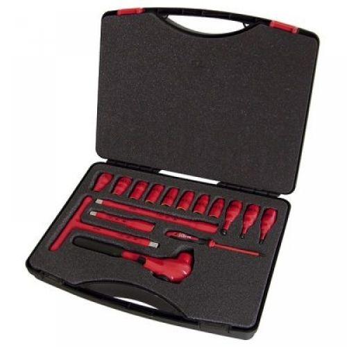 Набор инструментов 1/2″ VDE, 16 компонентов