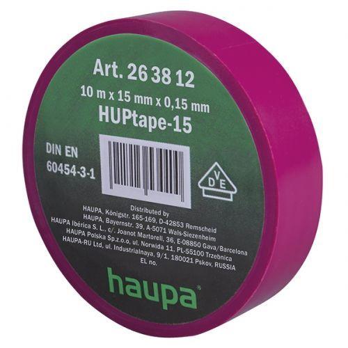Изолента ПВХ, цвет фиолетовый, шир. 15мм, длина 10 м, d 60 мм