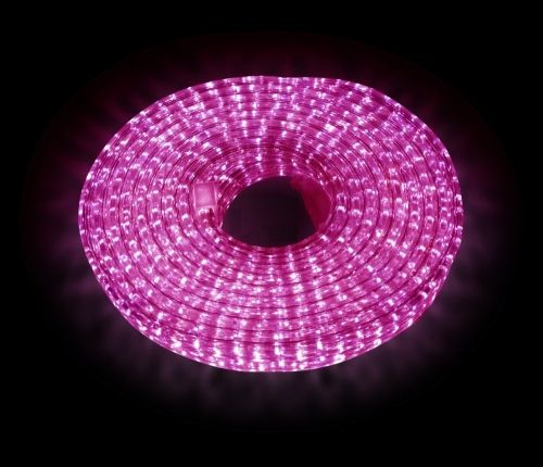 Дюралайт LED Пурпурный, квадратный, 3-жилы