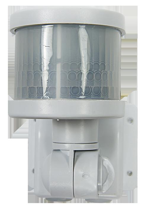 Датчик движения инфракрасный ДД-018-W 1200Вт 220 град. 12м, IP44 белый LLT