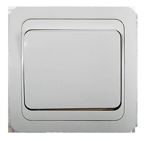 Выключатель 1кл CLASSICO  белый 2021