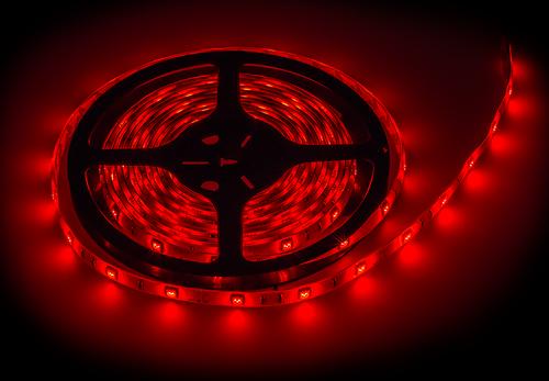 Лента светодиодная LS 50R-30/65 30LED 7.2Вт/м 12В IP65 красная LLT