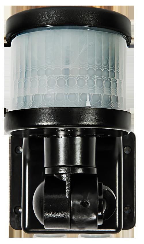 Датчик движения инфракрасный ДД-018-B 1200Вт 220 гр. 12м, IP44 черный LLT