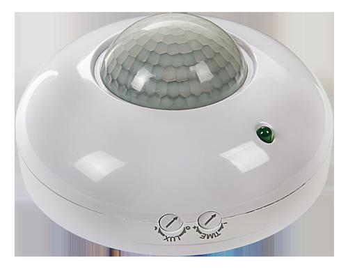 Датчик движения инфракрасный ДД-020B-W 800Вт 360 гр.6м IP33 белый LLT