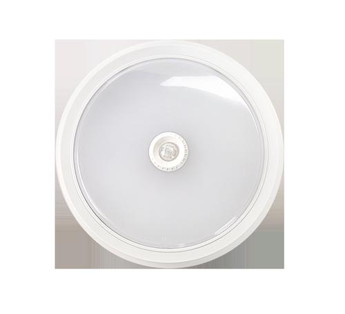 Светильник светодиодный СПБ-2Д 5Вт 230В 4000К 400лм 155мм c датчиком белый  LLT