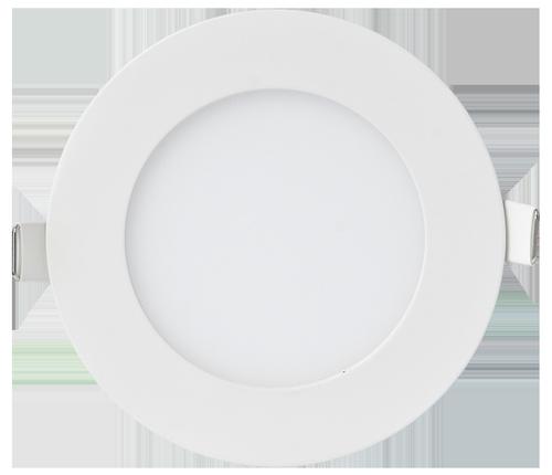 Панель светодиодная круглая RLP-eco 3Вт 230В 4000К 210Лм 90/80мм белая IP40 IN HOME