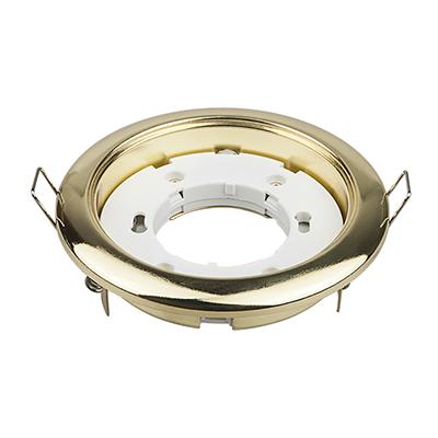 Светильник встраиваемый GX53R-RG-standard металл под лампу GX53 230В золото IN HOME