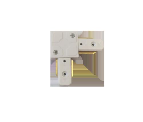 Коннектор для трекового светильника AC-1 угловой белый LLT