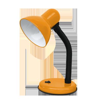 Светильник настольный под лампу  СНО-02О на основании 60Вт E27 ОРАНЖЕВЫЙ (мягкая упак.) IN HOME