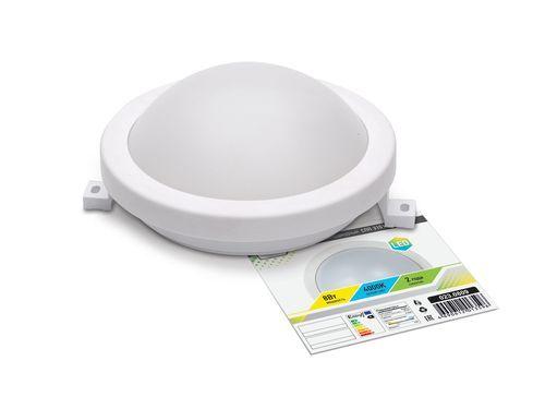 Светильник светодиодный герм СПП 3101 8Вт 230В 4000К 640Лм 150мм КРУГ IP65