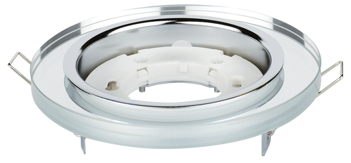 Светильник встраиваемый GX53R-RMR-glass под лампу GX53 КРУГ СТЕКЛО зеркальный IN HOME