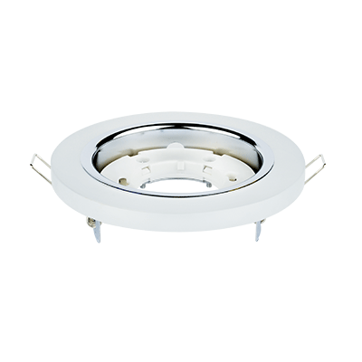 Светильник встраиваемый GX53R-RMT-glass под лампу GX53 КРУГ СТЕКЛО матовый IN HOME