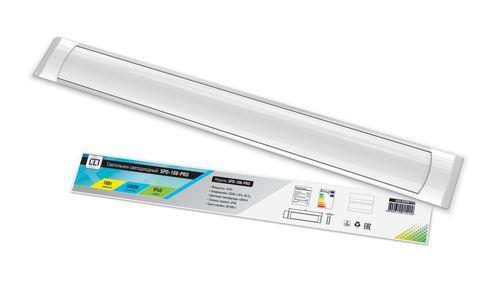 Светильник светодиодный SPO-108-PRO 18Вт 230В 6500К 1300Лм 600мм IP40 LLT