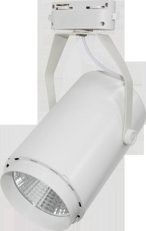Светильник светодиодный трековый TR-02 35Вт 230В 4000К 2800Лм 100x177x200мм белый IP40 LLT