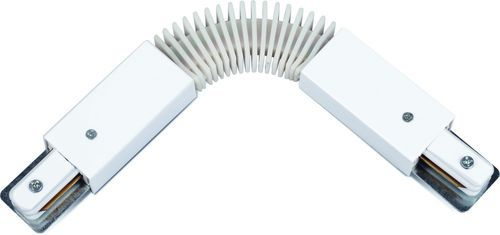 Коннектор для трекового светильника FC-1 гибкий белый LLT