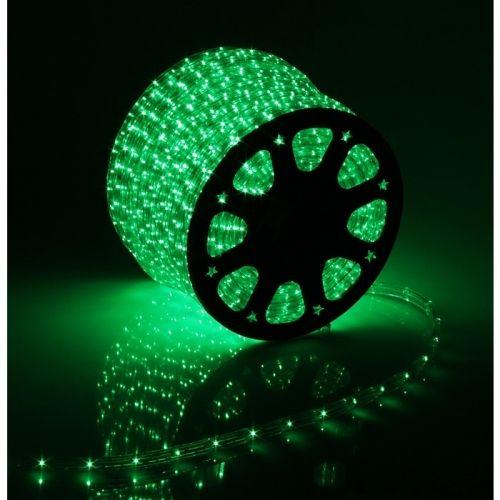 Дюралайт  LED Зеленый, круглый, 3 жилы