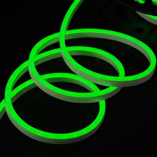 НЕОН LUX (Led Neon Flex) SMD 2835/120 LED 16х24 220V 7W/м, кратность резки 100 см, 50 м в катушке