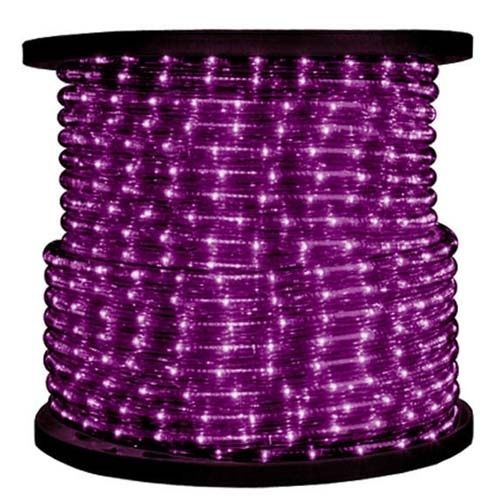 Дюралайт  LED Пурпурный, круглый, 3 жилы